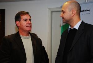 Allan e Cappra no E-mail Mkt Brasil 2009 - POA