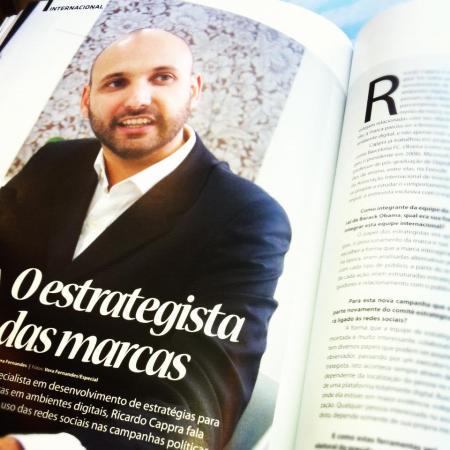 O estrategista das marcas - Revista Expansão Maio/12