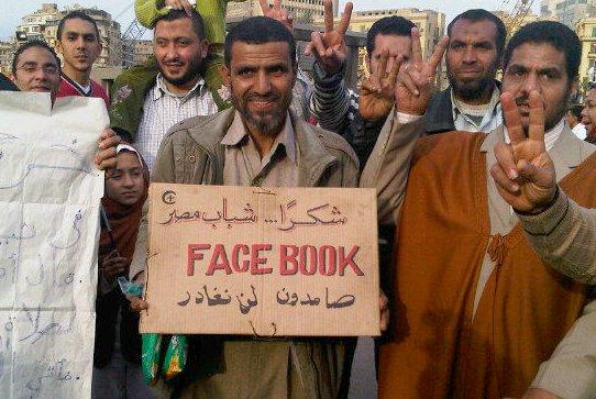 redes sociais-Egito